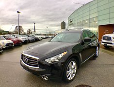 2013 Infiniti FX37 Navigation & Deluxe Touring Package