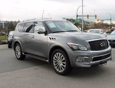 2015 Infiniti QX80 Technology Pkg 8-Pass Like New! No Accident Claim!