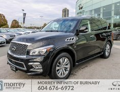 2016 Infiniti QX80 7-Pass One Owner BC Car No Accident Claim!