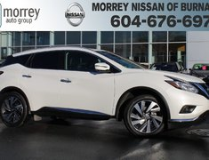 2017 Nissan Murano PLATINUM DEMO MODEL SAVE YOUR $