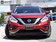 2017 Nissan Murano SL LEATHER NAVIGATION
