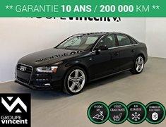Audi A4 SLINE TECH+ QUATTRO ** GARANTIE 10 ANS ** 2015