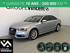 Audi A4 SLINE PROGRESSIV  QUATTRO ** GARANTIE 10 ANS ** 2015