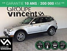 BMW X3 30i**GARANTIE DE 10 ANS** 2010