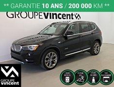 BMW X3 XDRIVE 2.8i AWD GPS TOIT ** GARANTIE 10 ANS ** 2016