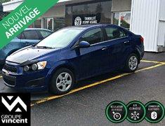Chevrolet Sonic LT **GARANTIE 10 ANS** 2012