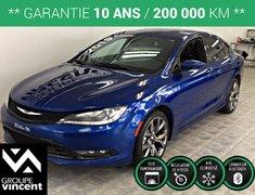 Chrysler 200 S**GARANTIE 10ANS** 2015
