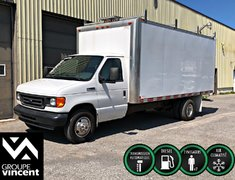 Ford Econoline cutaway E450 SUPER DUTY DIESEL ** CUBE 16 PIEDS ** 2006