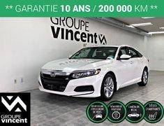 Honda Accord LX ** GARANTIE 10 ANS ** 2018