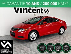 Honda Civic COUPÉ EX **GARANTIE 10 ANS** 2012