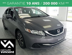 Honda Civic Sedan EX **TOIT | MAGS | BLUETOOTH** 2014