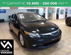 Honda Civic SEDAN EX-L**TOIT / CUIR / MAGS** 2012