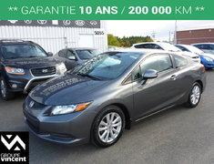 Honda Civic EX**GARANTIE 10 ANS** 2012