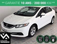 Honda Civic LX**GARANTIE 10ANS** 2013