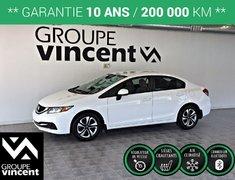 Honda Civic LX ** GARANTIE 10 ANS** 2013
