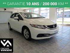 Honda Civic LX **18000km** 2014