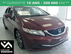 Honda Civic EX **TOIT | BLUETOOTH | MAGS** 2014
