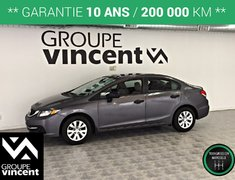 Honda Civic DX **GARANTIE 10 ANS ** 2015