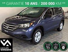 Honda CR-V LX **GARANTIE 10 ANS/ CAMERA DE RECUL/ AWD** 2013
