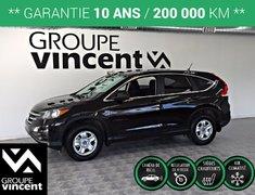 Honda CR-V LX** GARANTIE 10 ANS** 2014