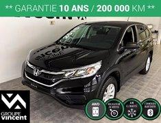 Honda CR-V LX **CAMÉRA DE RECUL** 2015