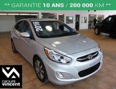 Hyundai Accent SE **GARANTIE 10 ANS** 2016