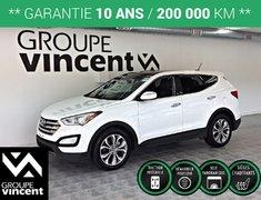 Hyundai Santa Fe LIMITED AWD GPS CUIR TOIT ** GARANTIE 10 ANS ** 2013