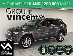 Jeep Grand Cherokee SUMMIT 4X4 GPS CUIR TOIT ** GARANTIE 10ANS ** 2015