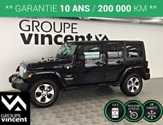 Jeep Wrangler Unlimited SAHARA TRAIL RATED 4X4 **GARANTIE 10 ANS** 2017