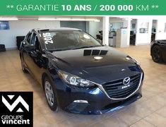 Mazda Mazda3 SPORT GX**DÉMARRAGE PAR BOUTON POUSSOIR** 2015