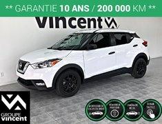 Nissan KICKS S MAGS ** GARANTIE 10 ANS ** 2018