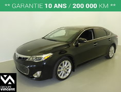 Toyota Avalon LIMITED**GARANTIE 10 ANS** 2015
