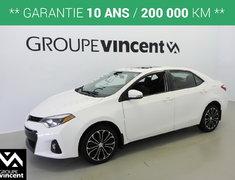 Toyota Corolla S**GARANTIE 10 ANS** 2015