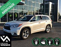 Toyota Highlander LIMITED AWD **GARANTIE 10 ANS** 2015