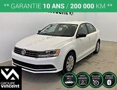 Volkswagen Jetta Trendline Plus **GARANTIE 10 ANS** 2015