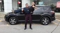 Merci encore à Alexandre et à toute l'équipe de Vimont Toyota!!