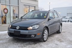 2014 Volkswagen Golf wagon Wolfsburg Edition 2.0 TDI 6sp DSG at w/ Tip