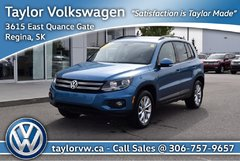 2017 Volkswagen Tiguan Wolfsburg Edition 2.0T 6sp at w/Tip 4M
