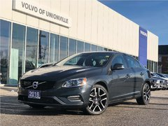 2018 Volvo S60 T5 AWD Dynamic POLESTAR PERFORMANCE UPGRADE, NAV,B