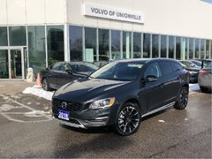2018 Volvo V60 Cross Country T5 AWD Premier FINANCE 24 MTHS 0.9% O.A.C.
