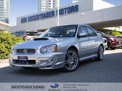 2004 Subaru Impreza WRX Sedan Moonroof at