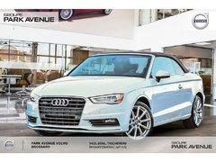 Audi A3 2.0T Progressiv | * NOUVEL ARRIVAGE * 2016