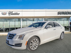 2018 Cadillac ATS Sedan Luxury AWD