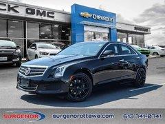 2014 Cadillac ATS 2.0L Turbo AWD Luxury  - Certified - $137 B/W