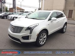 2018 Cadillac XT5 Platinum AWD  - Leather Seats