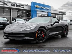 2016 Chevrolet Corvette 2LT W/ 3LT PKG  - Leather Seats - $430.75 B/W