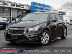 2015 Chevrolet Cruze LT Turbo  - Bluetooth -  SiriusXM - $95.66 B/W