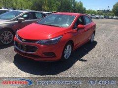 2018 Chevrolet Cruze LT  - $149.63 B/W