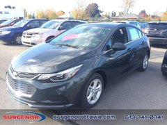 2018 Chevrolet Cruze LT  - Bluetooth -  Heated Seats - $144.90 B/W