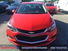 Chevrolet Cruze LT  - $168.65 B/W 2018